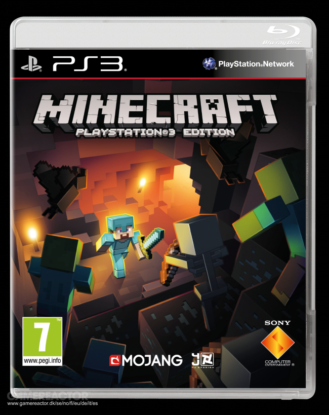 Minecraft gets a Blu-Ray edition on PS3