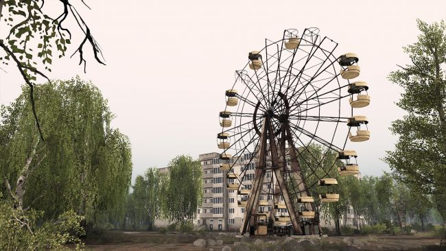 Spintires races into Chernobyl with a new DLC