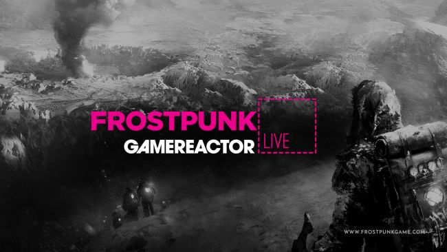 We play Frostpunk on PS4 for today's stream