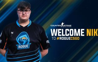 Rogue signs Danish player Niko to their CS:GO team