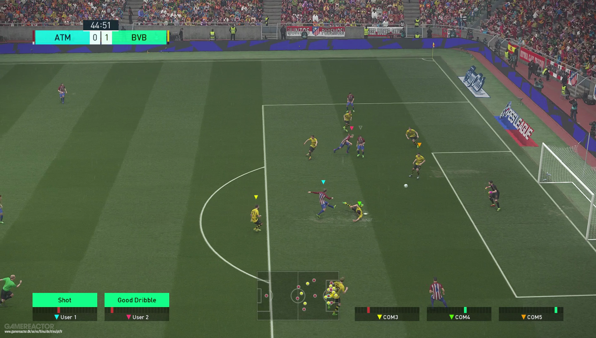 Pro Evolution Soccer 2018 Beta Impressions Preview Gamereactor Sony Ps4 Pes Premium Edition