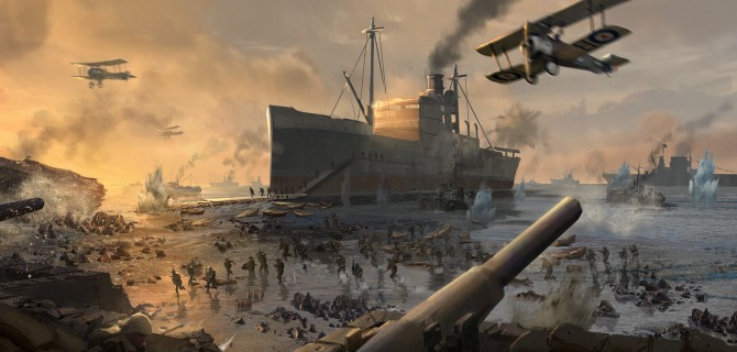 We get a bit more info on Battlefield 1's Turning Tides