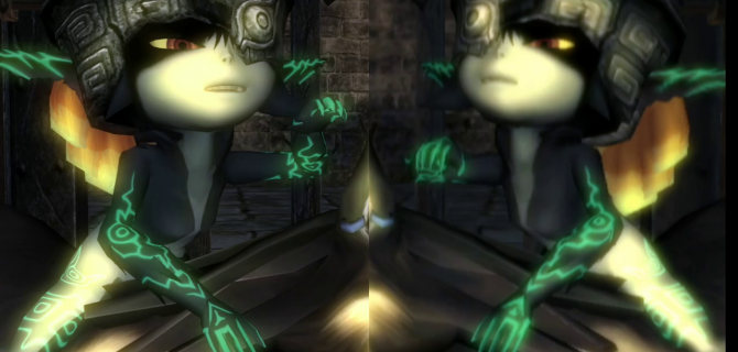 Zelda: Twilight Princess - Wii U vs. Wii Gameplay Comparison