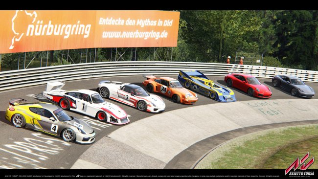 Assetto Corsa Porsche Pack 1 out now
