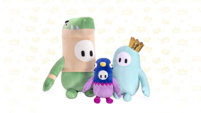 Check out these all-new Fall Guys plushies