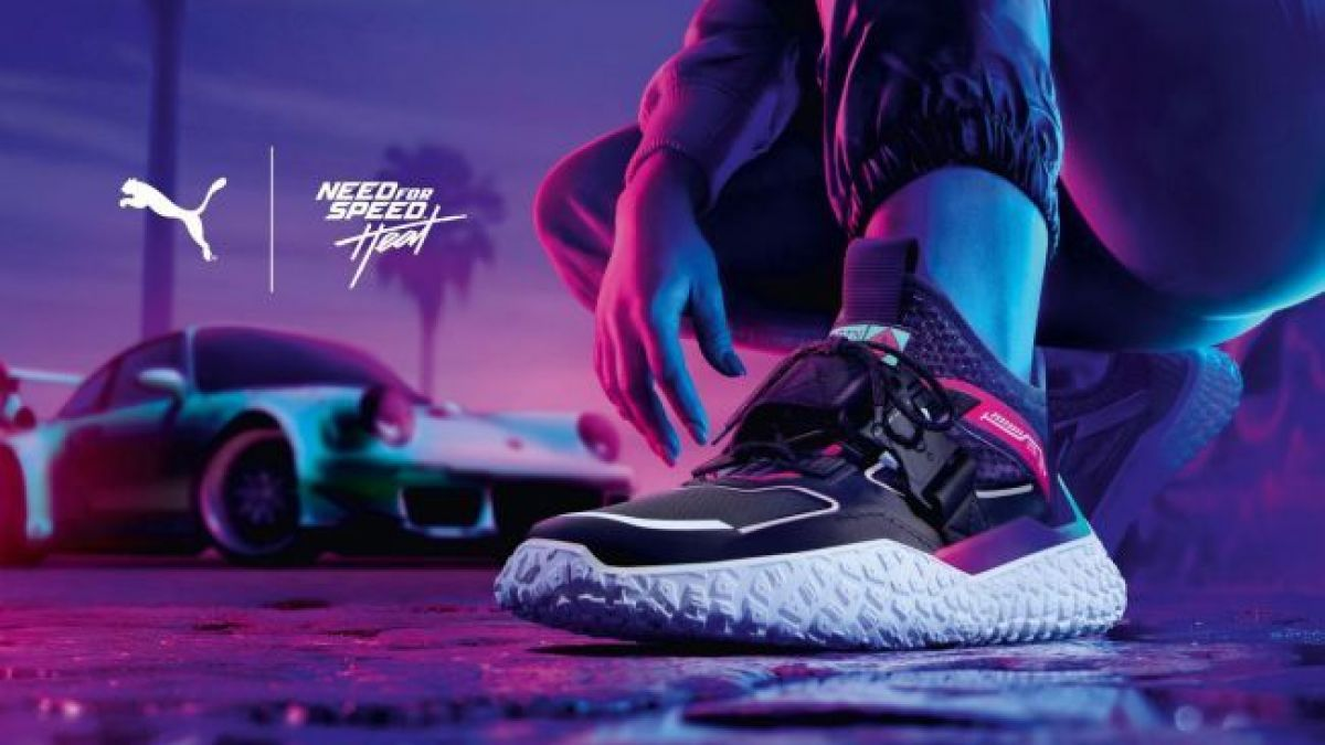 Need For Speed Heat And Puma Join Forces To Create Footwear