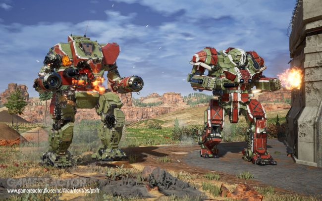 Check out these new Mechwarrior 5: Mercenaries screenshots
