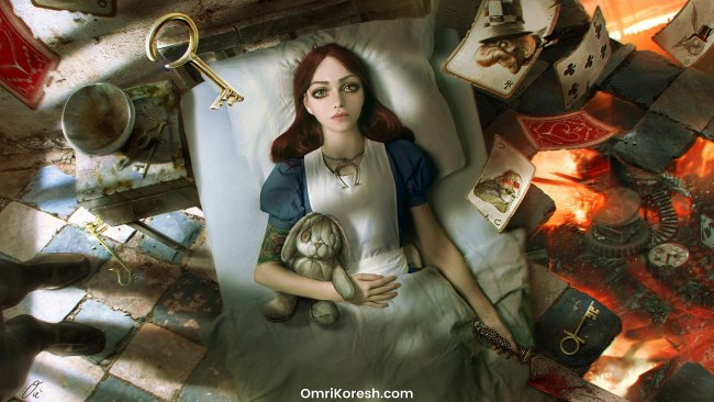 Alice looks impeccable in new Alice: Asylum 3D model clip