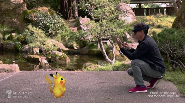 A new demo shows-off Pokémon Go on a Microsoft HoloLens