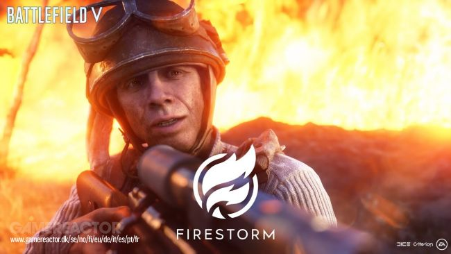 Battlefield V's Firestorm mode has a new gameplay trailer