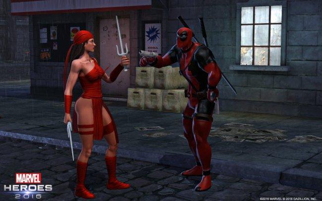 Elektra joins Marvel Heroes 2016 - Marvel Heroes 2015