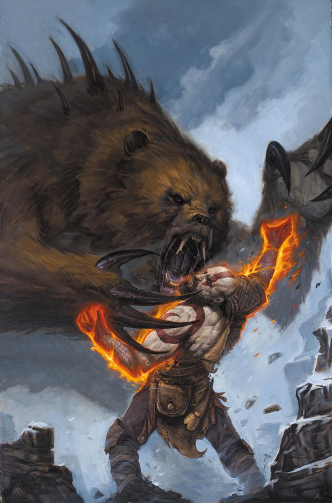 God of War comic hits the shelves in November