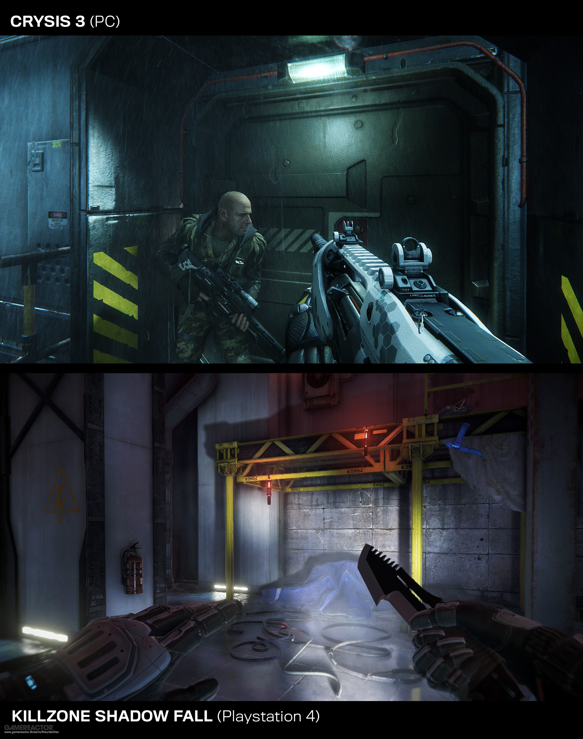 Pictures of Graphics Battle: Crysis 3 vs. Killzone: Shadow ...