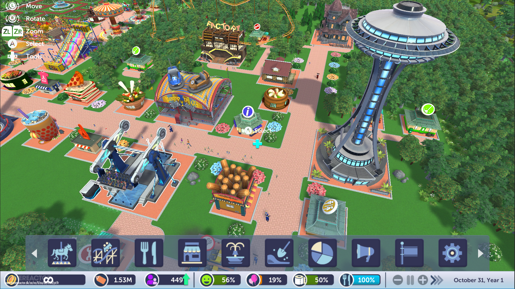 Pictures of Rollercoaster Tycoon Adventures 6/18
