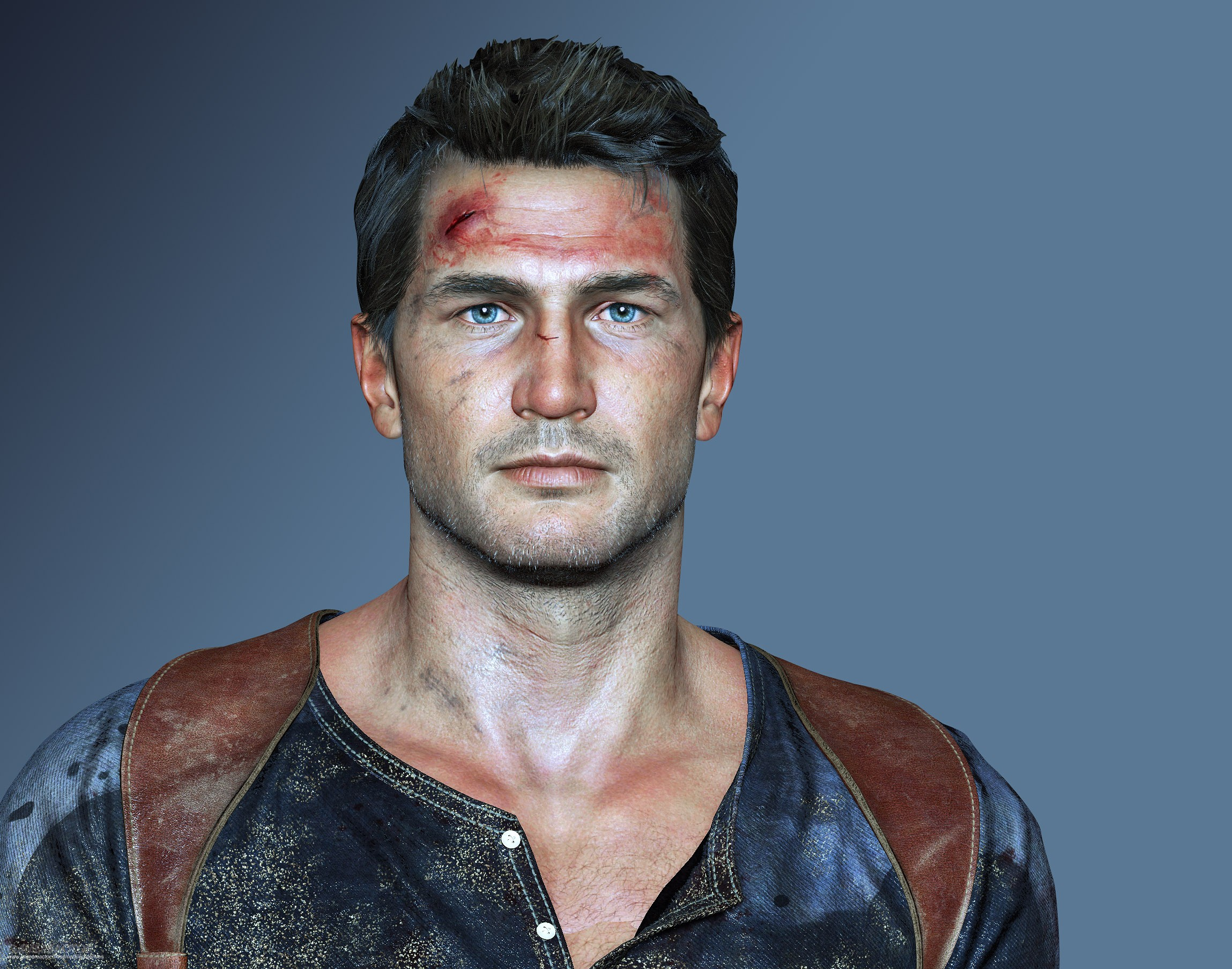 Pictures Of Uncharted 4 Character Faces Contains 500 Bones 1 1