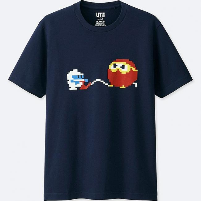 Uniqlo partner with Bandai Namco and Taito for new t-shirts