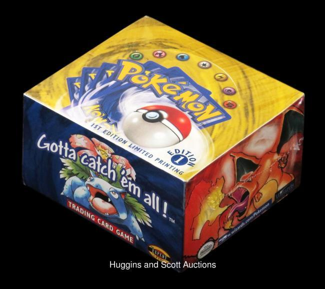 Unopened box of Pokémon cards sold for $56,000 USD