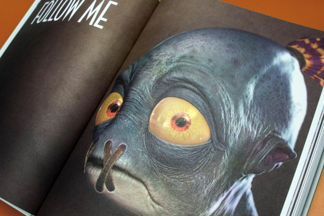 Oddworld: Abe's Origins art book now available for sale