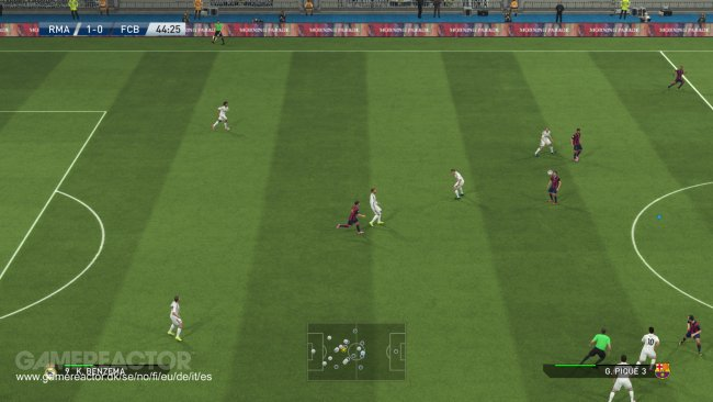 Fresh screenshots of Pro Evolution Soccer 2015