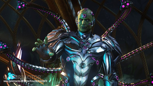 Screens and story trailer drop for Injustice 2