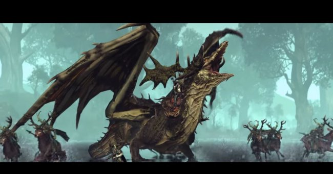 The Wood Elves enter the fray in Total War: Warhammer