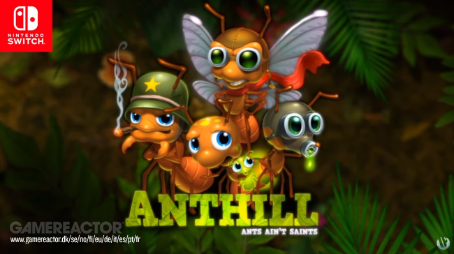 Anthill announced for Nintendo Switch