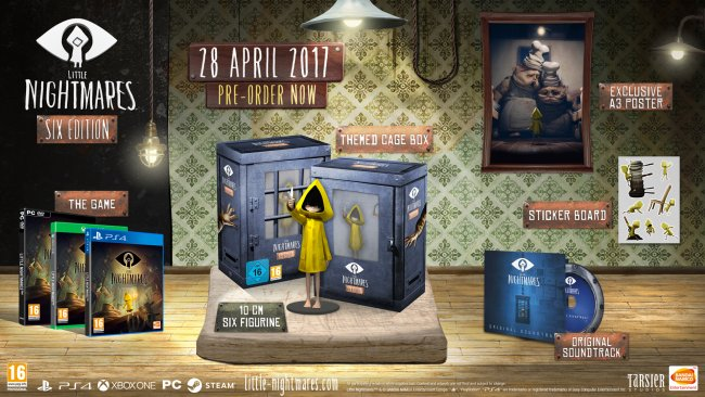 Little Nightmares arrives on April 28