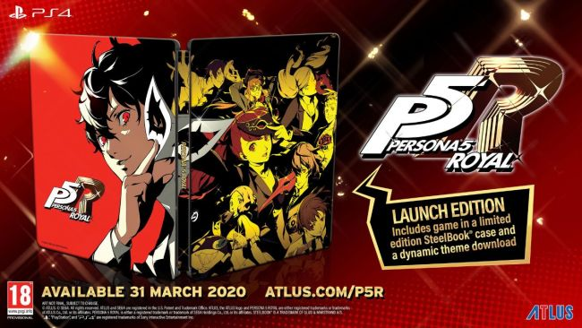 Persona 5 Royal releasing on March 31