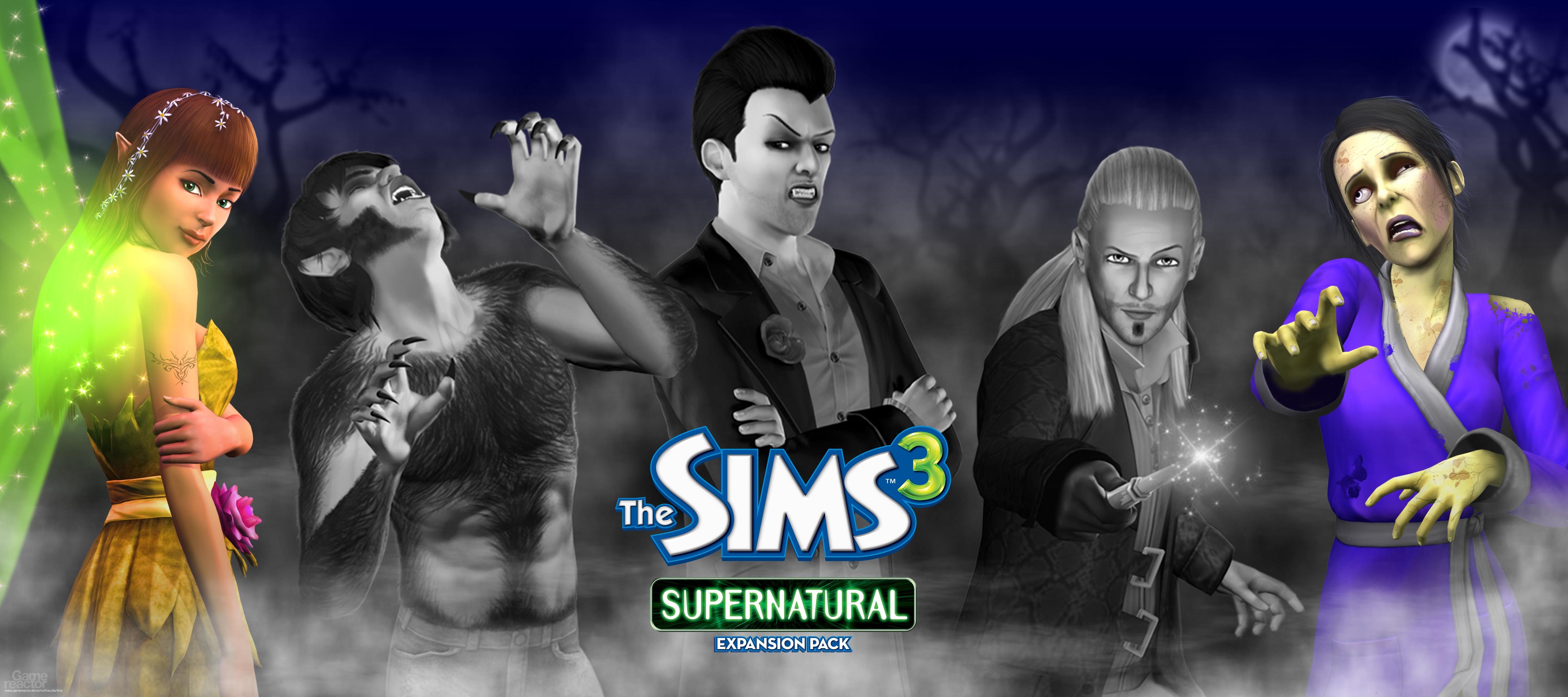 Sims 3 Supernatural - The Sims 3: Supernatural - Gamereactor