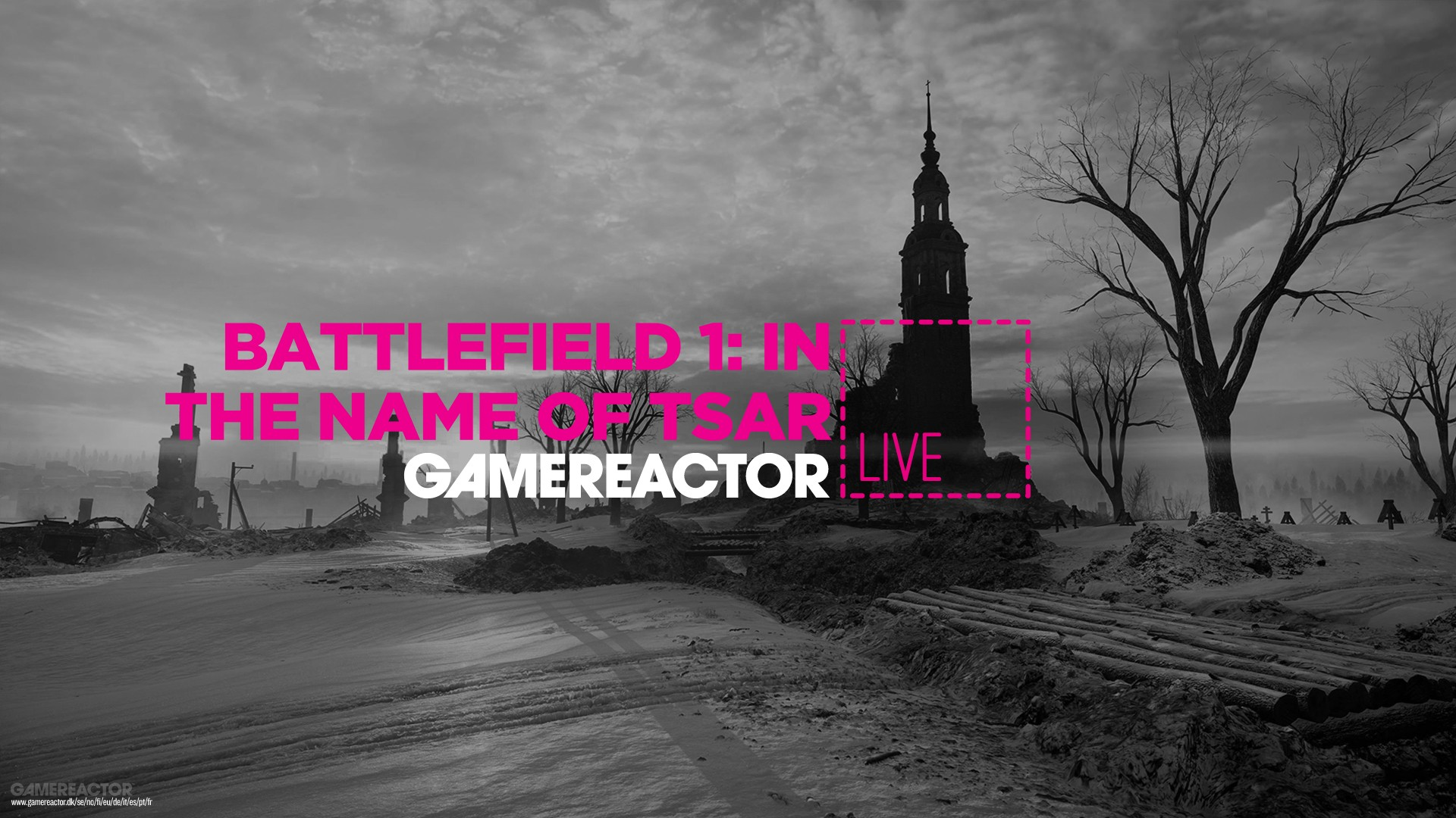 Today On Gr Live Battlefield 1 In The Name Of The Tsar