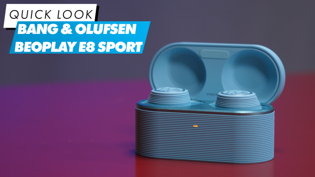 We dive into the Bang & Olufsen Beoplay E8 Sport in the latest edition of Quick Look