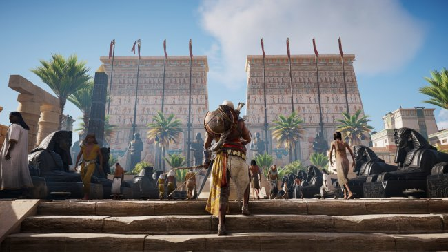 Assassin's Creed Origins - An hour in Memphis