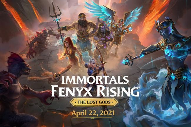 Immortals: Fenyx Rising - The Lost Gods coming next week