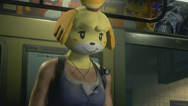 Play as Animal Crossing's Isabelle in Resident Evil 3