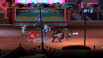 Mighty Morphin' Power Rangers: Mega Battle - Launch Trailer