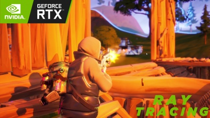 Fortnite - Gameplay with Ray Tracing