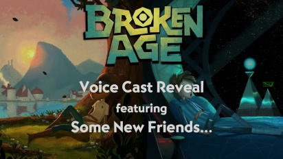 Broken Age - Voice Cast Reveal Trailer