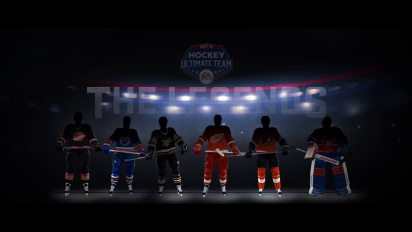NHL 15: Hockey Ultimate Team Legends Trailer
