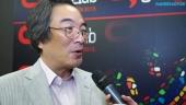 Pixels, Pac-Man 35th Anniversary - Professor Toru Iwatani Gamelab Legend Award Interview