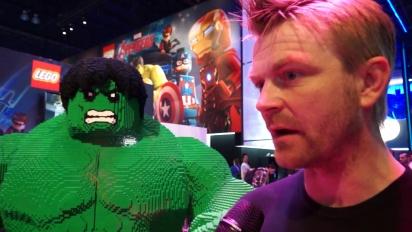 Lego Marvel Avengers - Game Director Interview