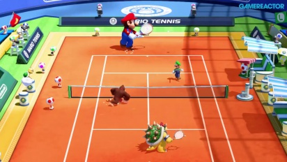 Mario Tennis Ultra Smash - Singleplayer Gameplay