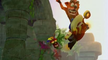 Crash Bandicoot: Nsane Trilogy - Launch Gameplay Trailer