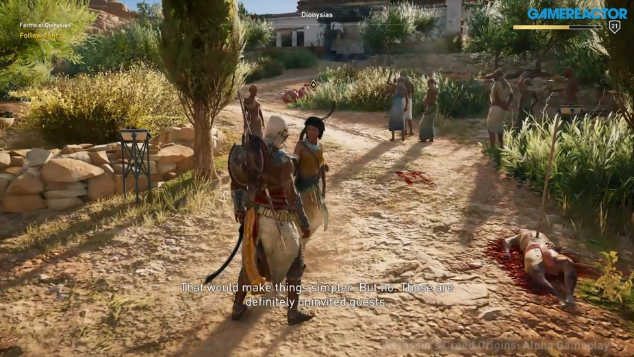 Assassin S Creed Origins E3 Gameplay
