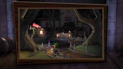 E3 12: Luigi's Mansion: Dark Moon - Trailer