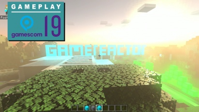 Minecraft - Nvidia Gameplay from Gamescom