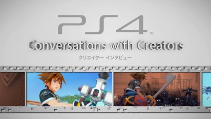 Kingdom Hearts III - Conversations with Creators Japanese Dev Diary