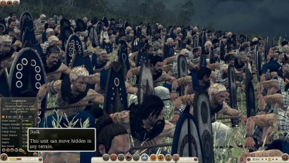 Total War: Rome II - Unit Spotlight: Stealth Units