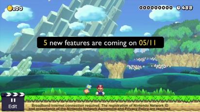 Super Mario Maker - November Update Details