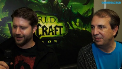 World of Warcraft: Legion - Chris Robinson & John Hight Interview