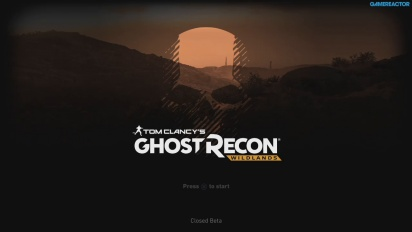 Ghost Recon: Wildlands - Single Player Beta Livestream